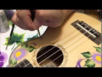 How to paint my ukulele with acrylic