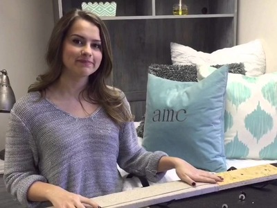 How to Setup Dorm Decor Headboard