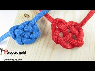 How to tie the Celtic heart knot
