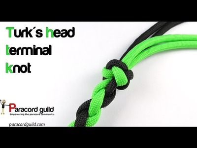 How to tie the turk's head terminal knot