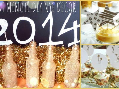 ♥ Last Minute DIY NYE Décor- Easy & Inexpensive ♥