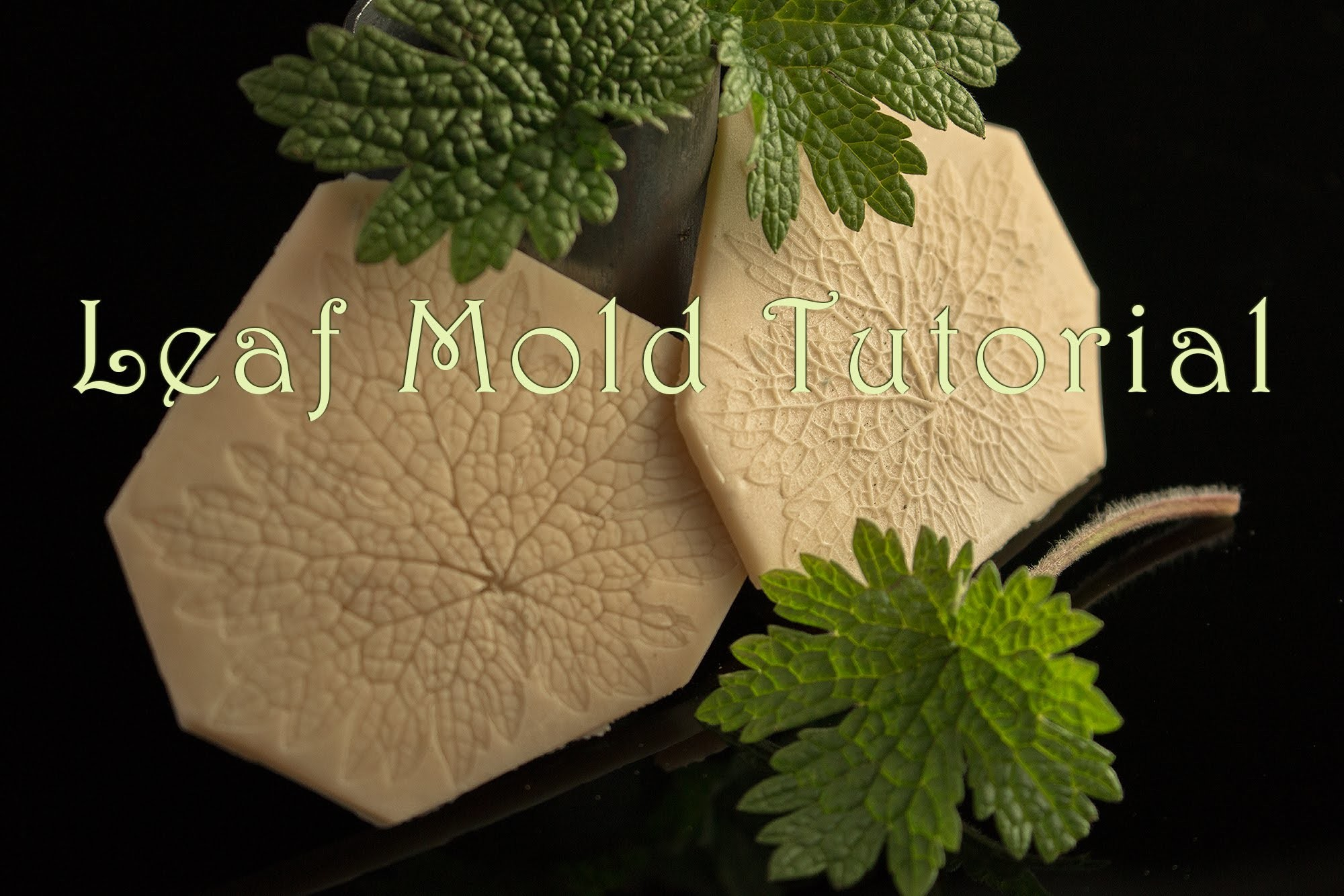 Leaf Mold Tutorial for Precious Metal Clay - Sculpey Mold Maker