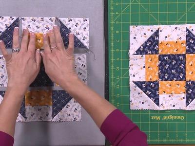 My First Quilt - Episode 12 - Simple Quilt Blocks: Churn Dash
