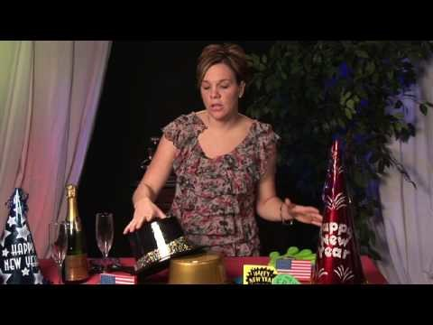 New Year's Party Planning : How to Decorate Your House for a New Year's Party