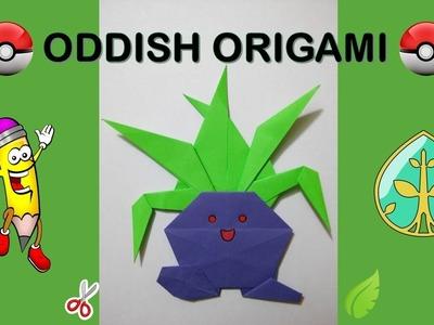 ODDISH POKEMON GO origami facil de hacer how to make orgami easy