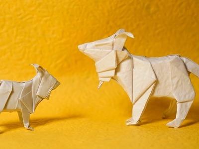 Origami Goat Tutorial (Henry Phạm)