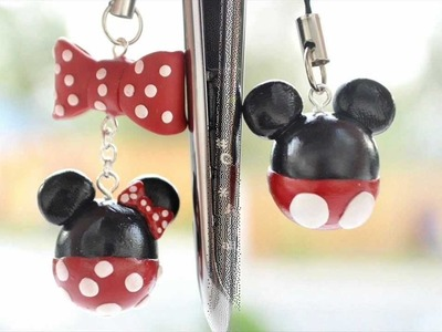 PaperPastels Contest- Mickey and Minnie Mouse Phone Charms