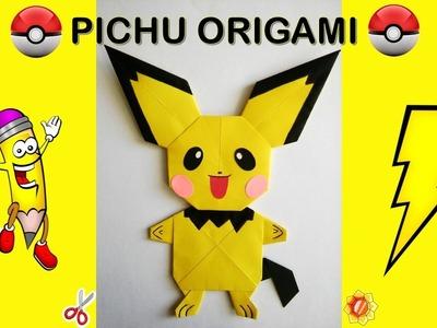 PICHU POKEMON GO How To Make Origami Easy