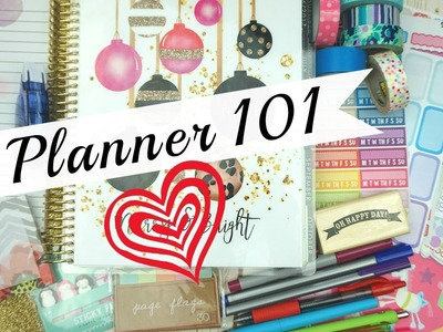 Planner 101 for beginners. Planner Must Haves