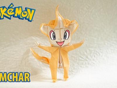POKEMON - Origami Chimchar Tutorial (Henry Phạm)