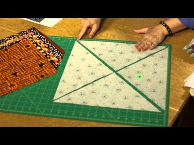 Quilting Quickly - Halloween Stepping Stones