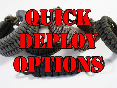 Rock Paracord - Quick Deploy Options Part 1