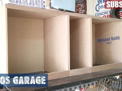 Rustic Wood Dresser Part 1 - Jimbos Garage