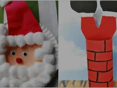 Santa Crafts for Kids - Christmas 2016