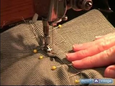 Sewing & Making a Men's Shirt : Sewing a Collar: Finishing the Collar Stand