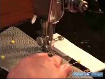 Sewing & Making a Men's Shirt : Sewing a Collar: Topstitching the Collar