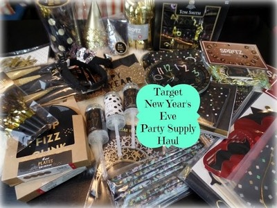 Target New Year's Eve Party Supply Haul- Dollar Spot & More