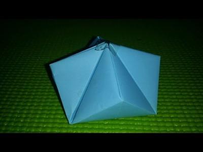 신기한 보석상자접기 보석상자 종이접기 Origami   How to make an easy origami a jewel box
