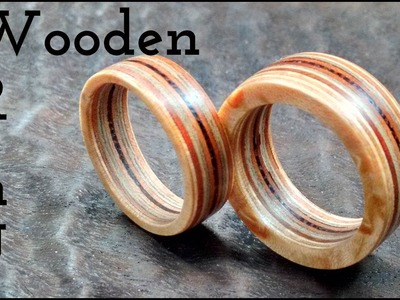 Wooden rings | FUN WITH WOOD. RGR by James O'Rear