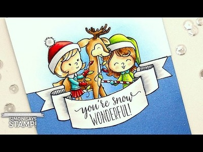 You're Snow Wonderful: Hand Drawn Banner