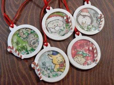 12 Days of Christmas Tags 2016 | Day 5 of 12 | Gerda Steiner Peeking Friends