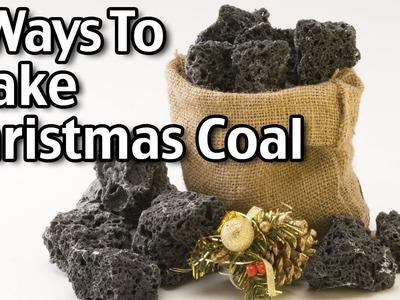 2 Ways To Make Christmas Coal