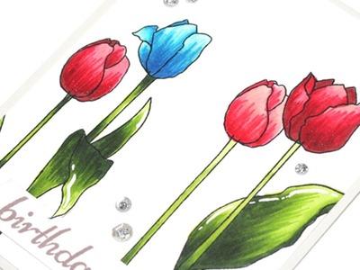 Flower Altenew Artist Markers Colouring Flowers Altenew Artist