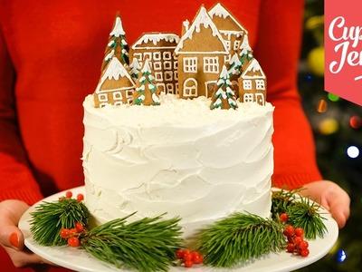 Alternative Double Chocolate Forest Fruit Christmas Cake recipe | Cupcake Jemma