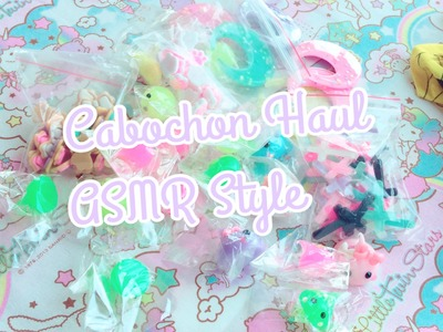 ASMR Style Cabochon Haul.Package opening
