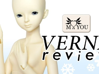 Ball Jointed Doll BJD Verna Unboxing Review Myou Doll
