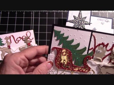"Basic ""Z"" Fold For Any Card Featuring Santa's Sleigh & Star Of Light"