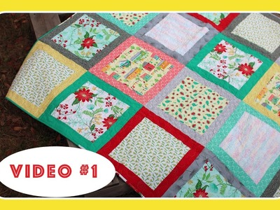 Blox Quilt Along with The Crafty Gemini - Video #1 of 3