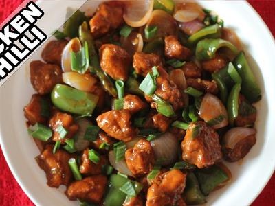 Chilly Chicken   Easy Indian Chicken Recipe   Non-Veg Starter Recipes   Kanak's Kitchen