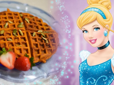 Cinderella's Dreamy Pumpkin Waffles Recipe | Inspired by Disney's Cinderella