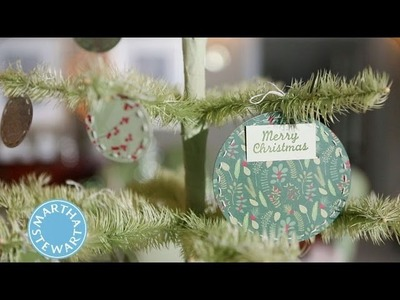 Craft a Holiday Gift Card Holder Pouch | Martha Stewart
