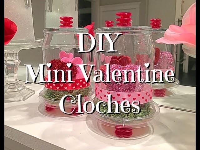 DIY Dollar Tree Mini Valentine Cloche