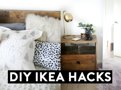 DIY IKEA HACKS | DIY Room Decor 2017! Easy & Cheap!