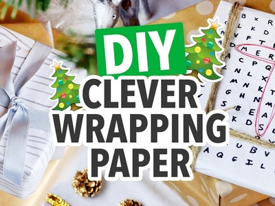 DIY Last-Minute Wrapping Paper ~ Christmas 2016 - HGTV Handmade