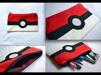 DIY Pokemon go, Back To School, Pencil Case, Back To School CRAFTS EASY for Kids