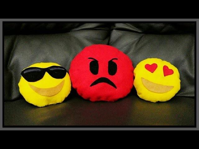 DIY SIMPATICI CUSCINI EMOJI WHATSAPP | Pillows with whatsapp emoticons | REGALO PER SAN VALENTINO
