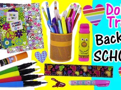 DOLLAR TREE Back to SCHOOL Bonanza Part 1! Folders Smelly Pens Paintbrush Markers Lip Balm! FUN HAUL