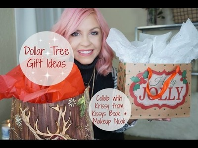 Dollar Tree Gift Ideas| Gifts For Her + Silly White Elephant Gifts|Collab With Krissy| Megan Navarro