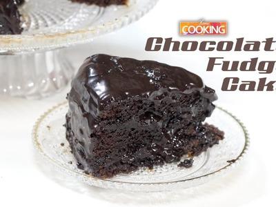 Easy Chocolate Fudge Cake  |  Home Cooking