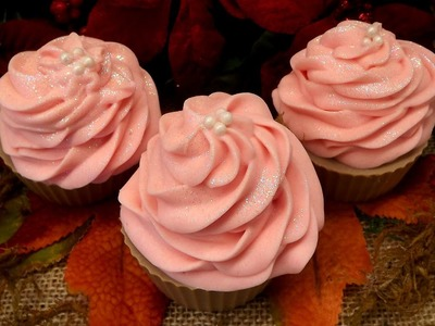 Fairy Cupcakes Soaps With Recipe By Natures Art