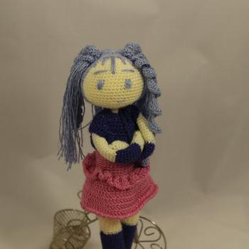 Hatsune Miku Amigurumi - crochet Pdf Pattern
