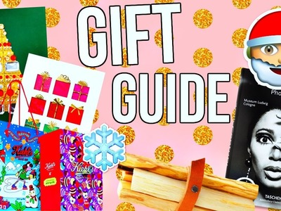Holiday Gift Guide 2016! What to Give for Christmas!