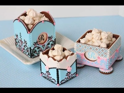 How to Assemble 3-D Cookie Boxes (The Basics)