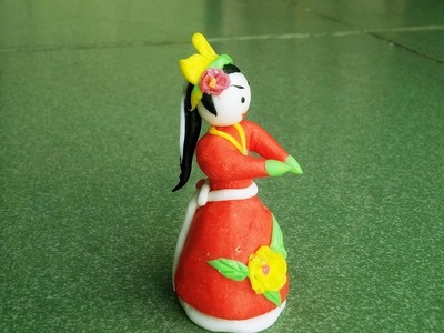 How To Create Doll Girl From Rice Flour - Tò He Art