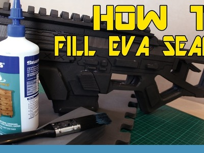 HOW TO: Fill EVA Foam Seams On Props