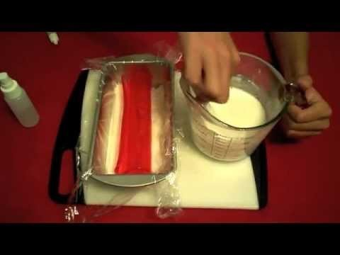 How to Make Christmas Curl Soap